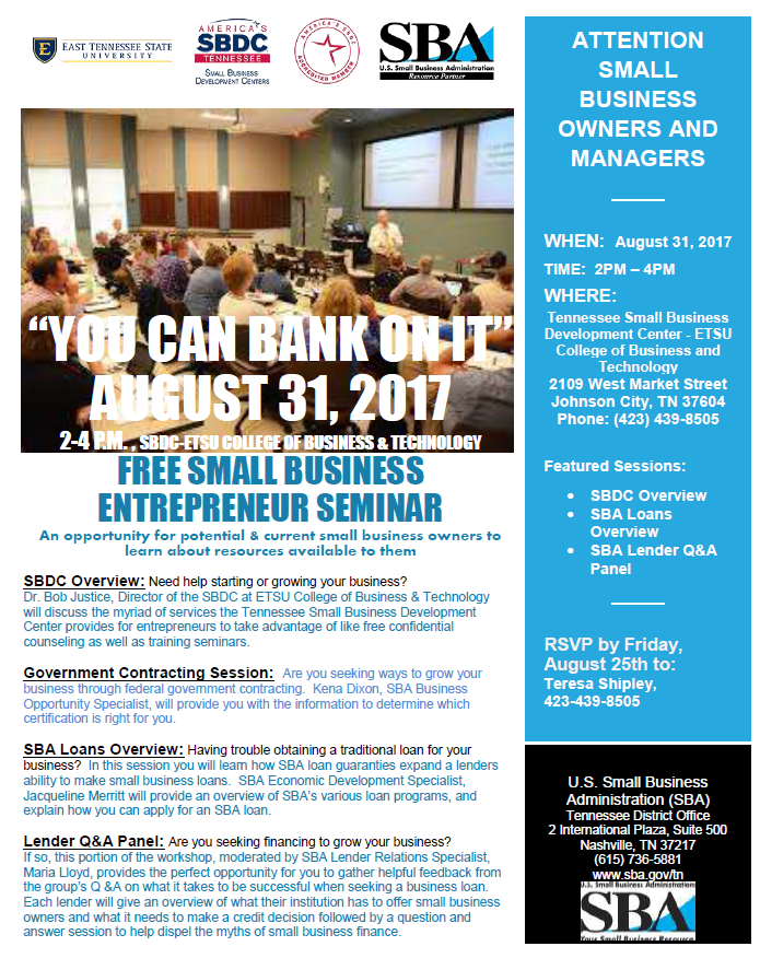 You Can Bank on It Seminar for Borrowers