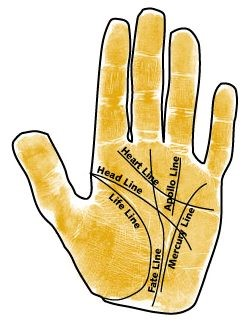 Palm Reading Hand